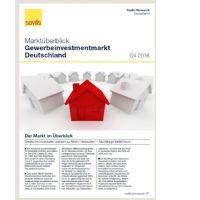 Marktüberblick Gewerbeinvestmentmarkt Deutschland Q4 2016