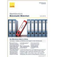Marktüberblick Büromarkt München Q4 2016