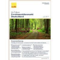 Fokus Forstimmobilienmarkt Deutschland Juli 2017