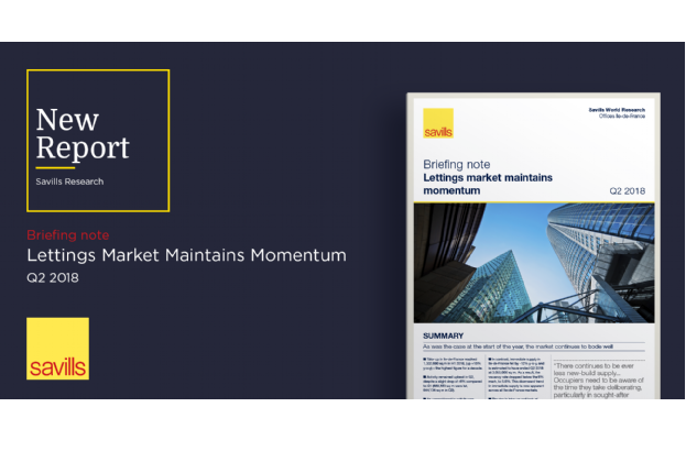 Briefing Note: Lettings market maintains momentum