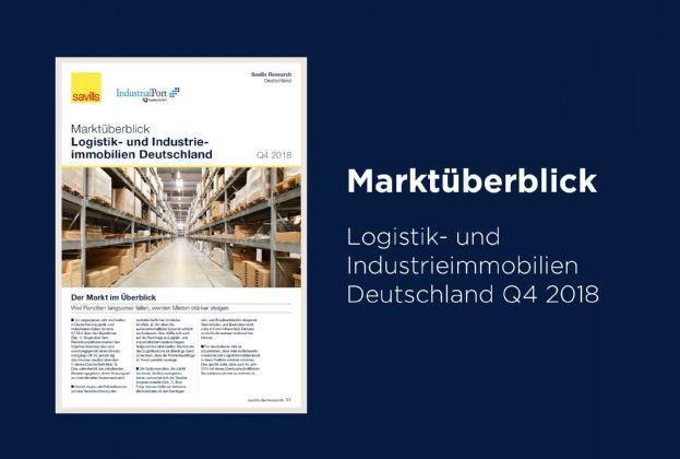 Marktüberblick Logistik- und Industrieimmobilien Deutschland Q4 2018