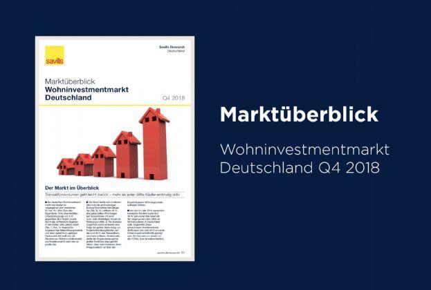 Marktüberblick Wohninvestmentmarkt Deutschland Q4 2018